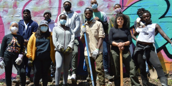 Newark Educators Transform Vacant Lot Into An Urban Garden