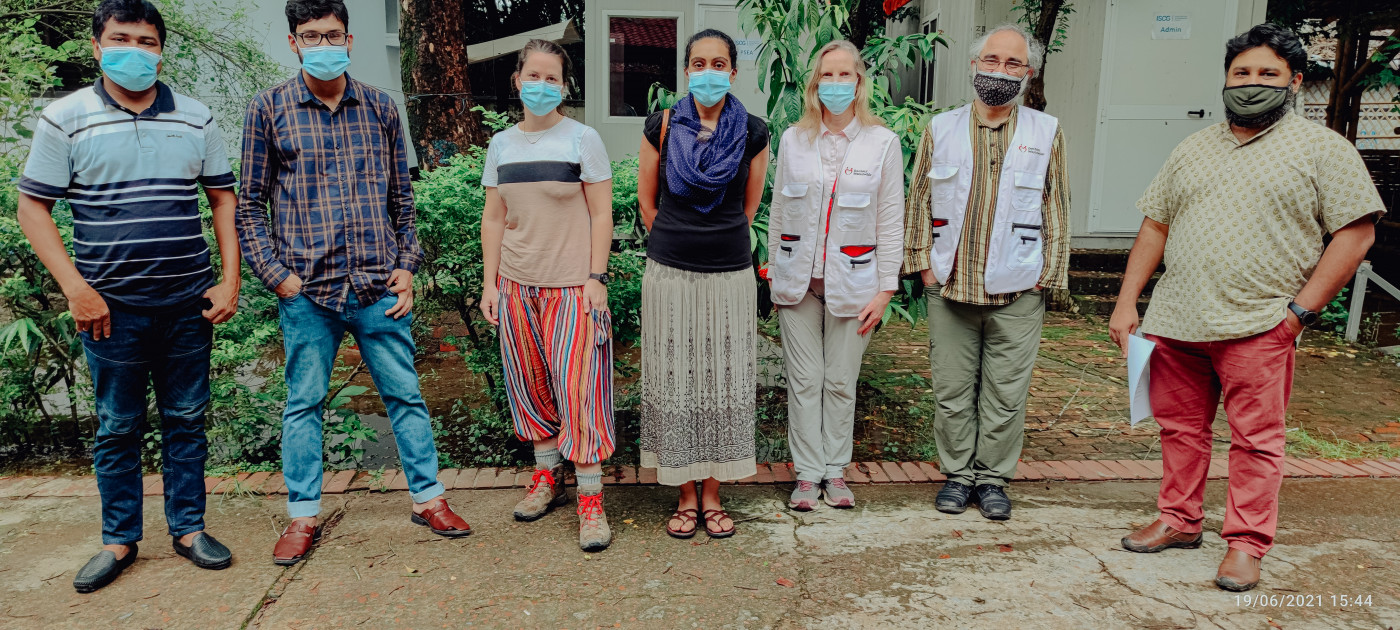 Doctors Worldwide Medical Faculty and Project Team in Bangladesh