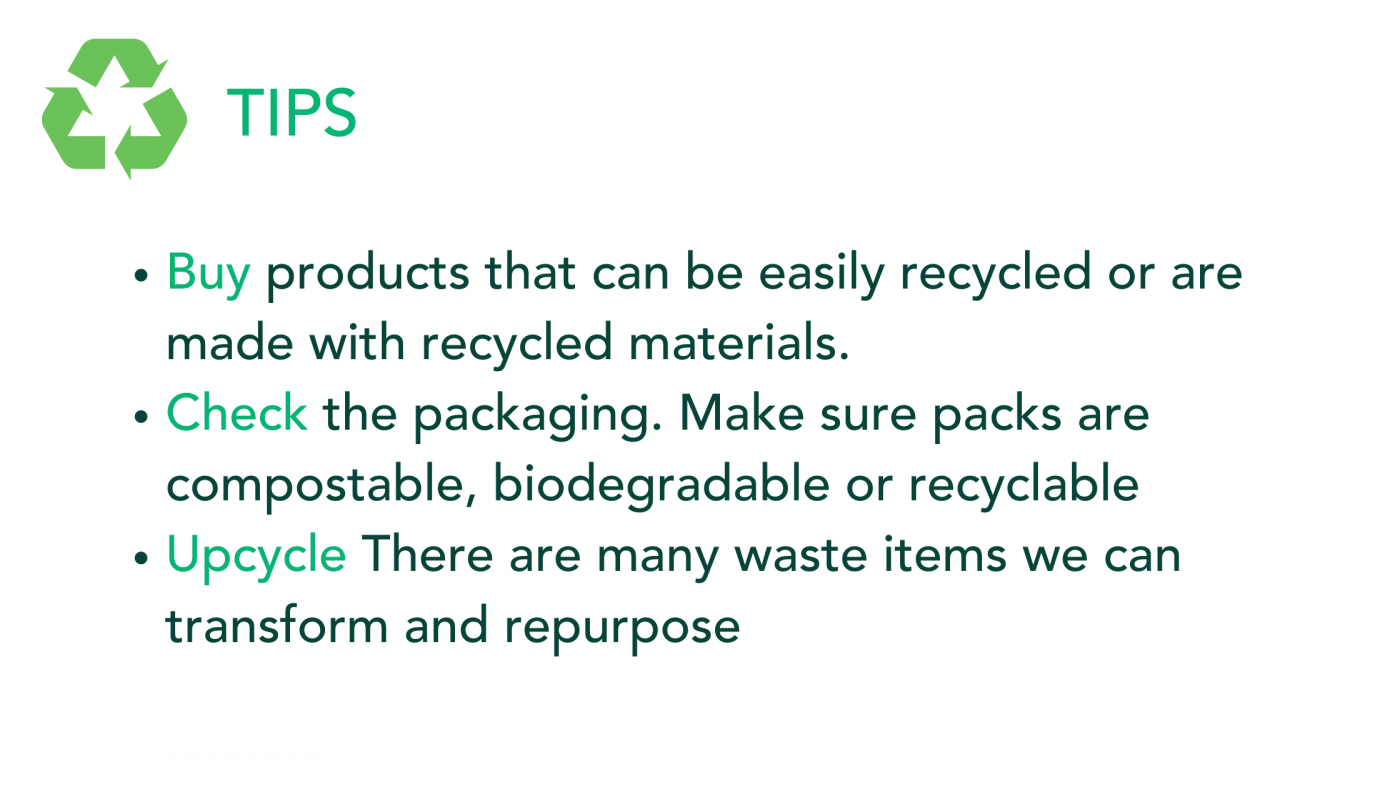 Recycling tips