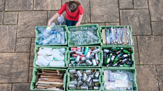 Recycling: how to sort recyclables at home