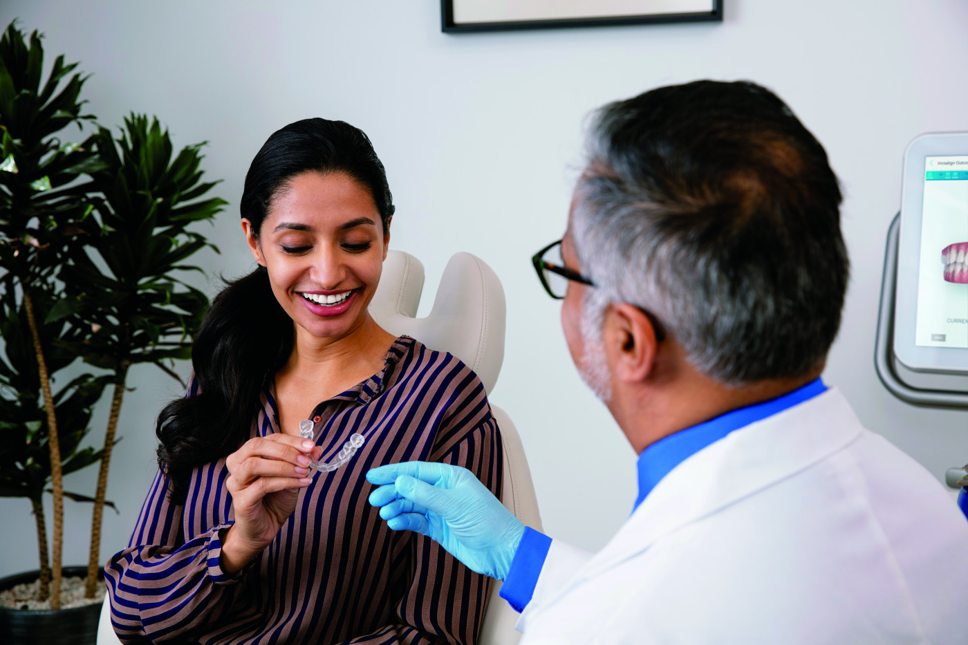 Invisalign with My Dentist or Orthodontist: Is There a Difference?
