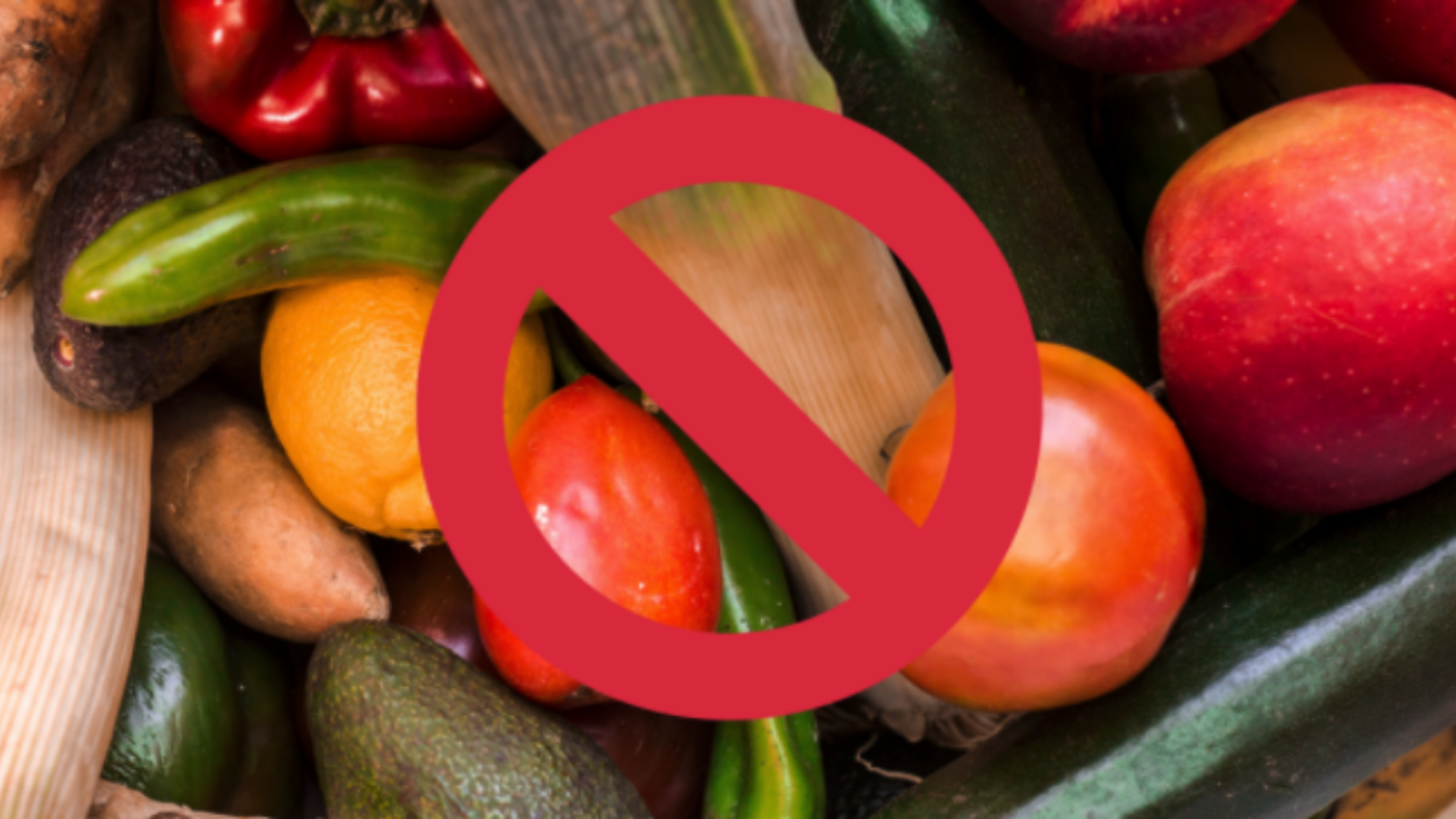 When Healthy Fruits and Vegetables are Not So Healthy