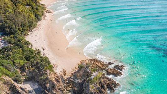 Beach Tent Destination - Top 5 Stunning Byron Bay Beaches