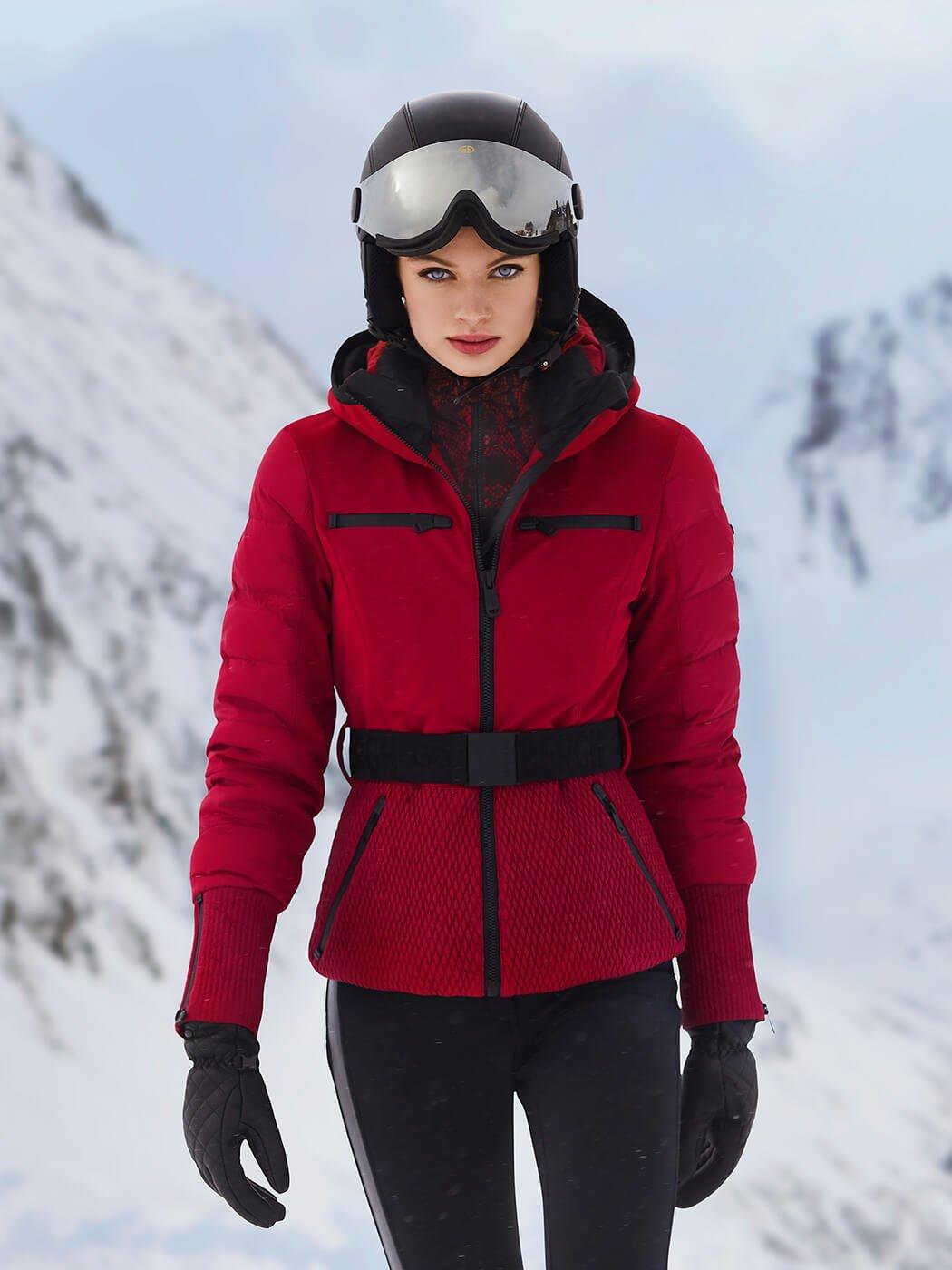 Faux Fur and No Fur Ski Jackets