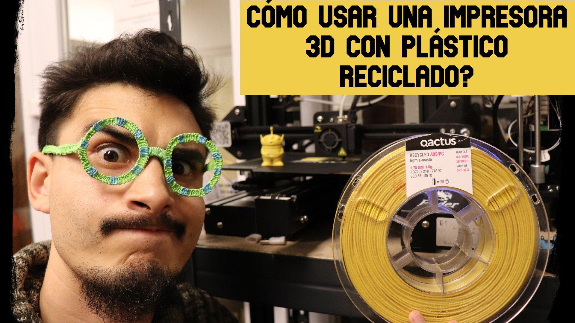 ¿Cómo usar una impresora 3D? - Tutorial Ender 3 con ABS Reciclado