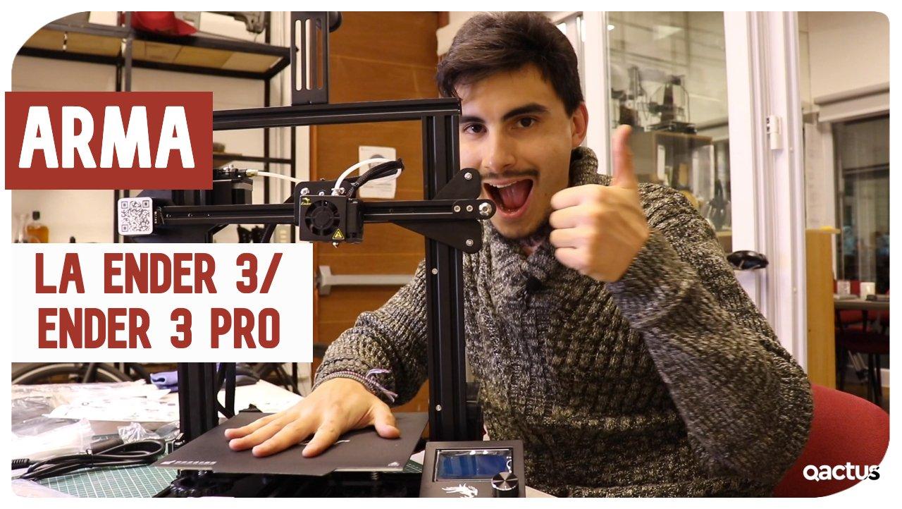 ¿Cómo armar una impresora 3D? Ender 3 y Ender 3 Pro