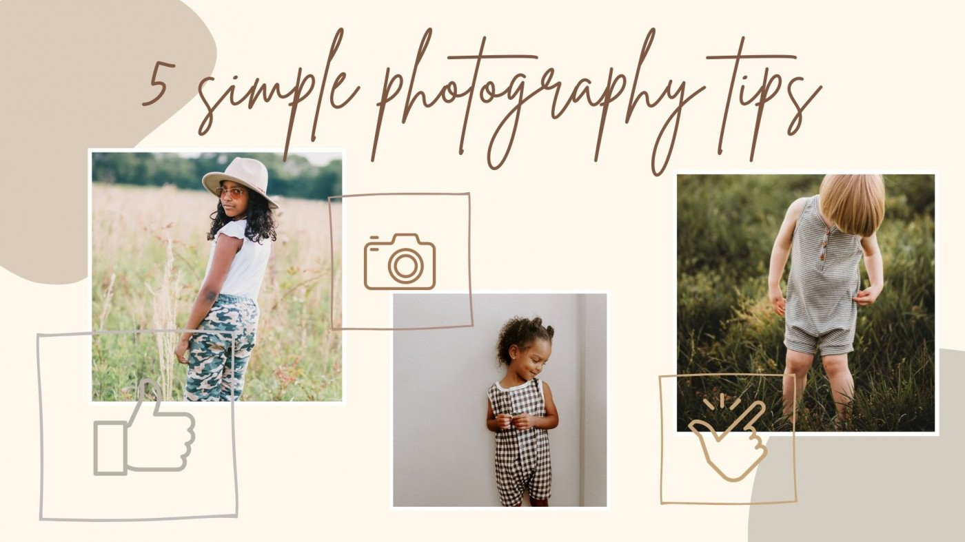 5 Simple Photography Tips for Sewing #1