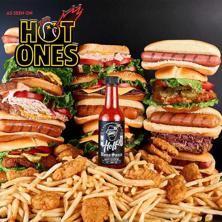 """It's Good""  - Jimmy Kimmel Trying Haus Sauce on Hot Ones Season 16"