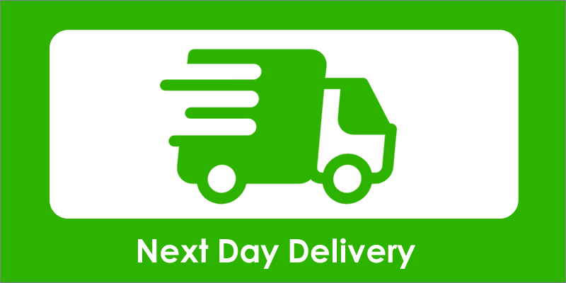 Free Next Day Delivery Now Available!