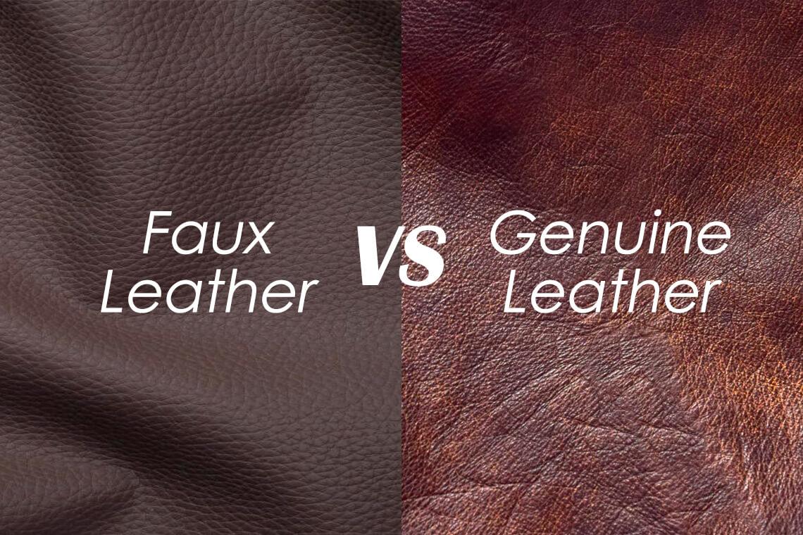 Faux Leather vs Genuine Leather: Head to Head Comparison