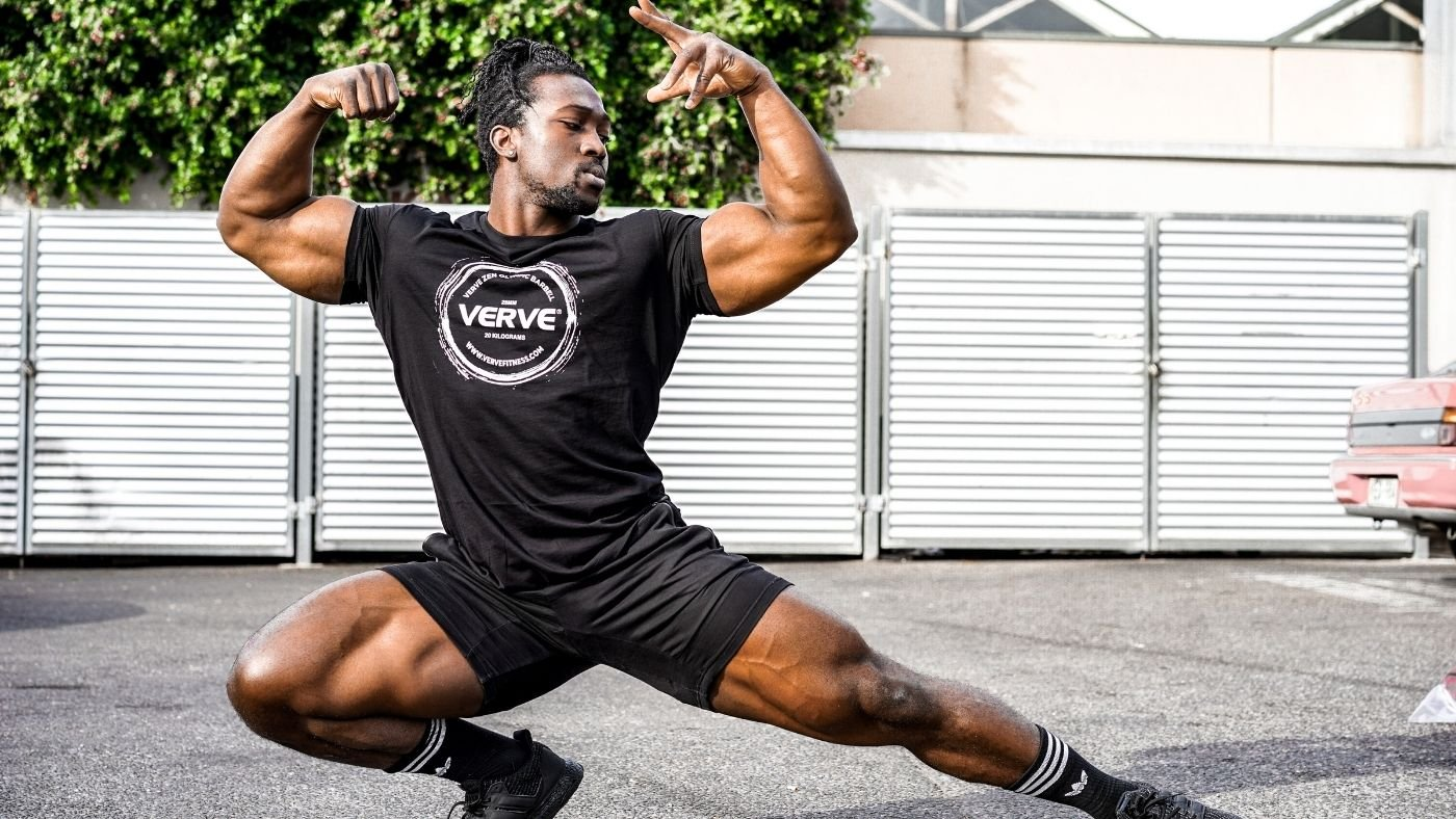 Kwame Bodybuilder | World Champion, from Ghana to gold!